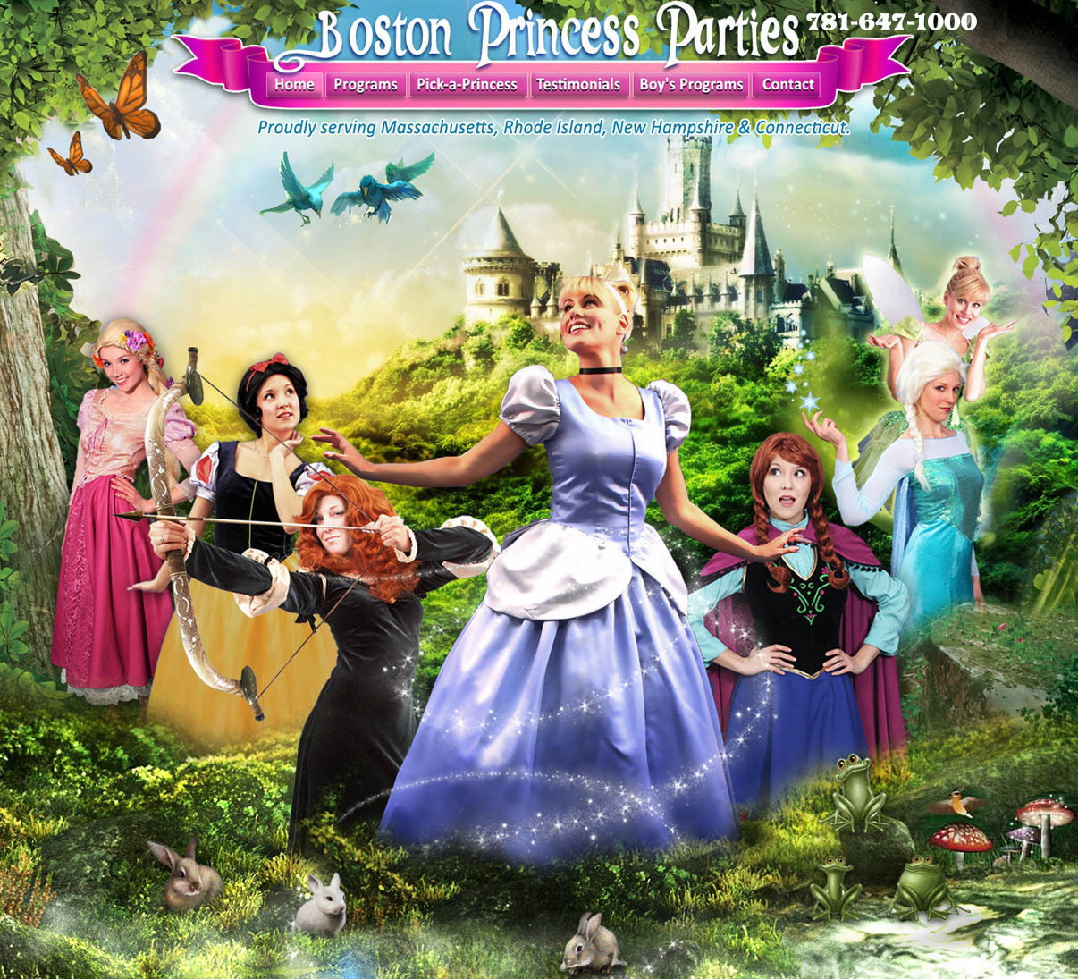 Boston Princess Party, Boston Princess Parties